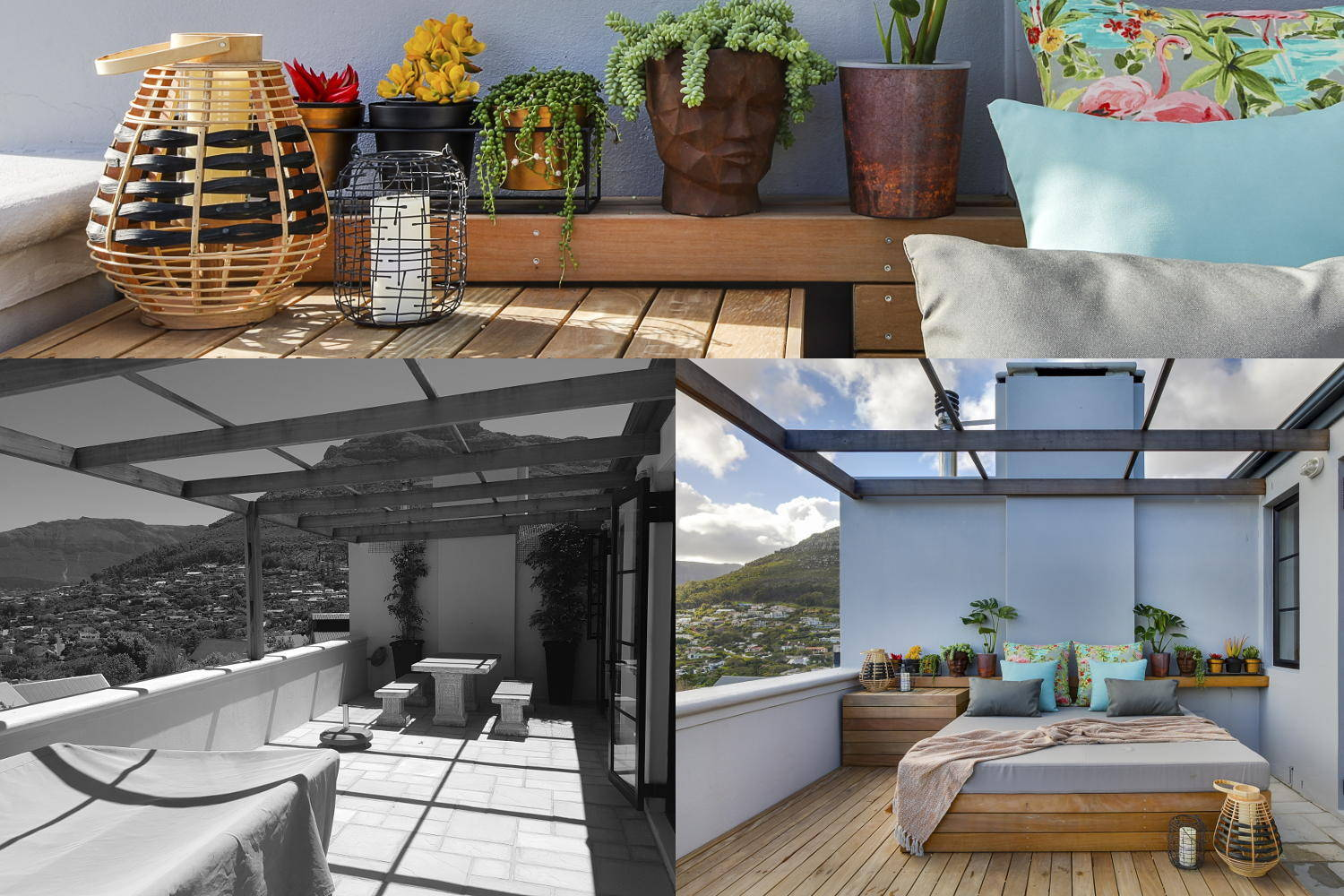 Scott Estate Hout Bay Onnah Design Viewing Deck Before and After