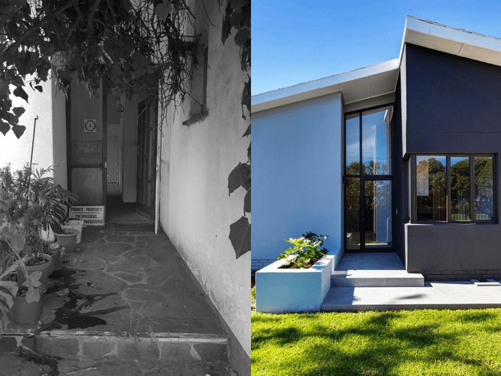 front door onnah design residential refurbishment-min