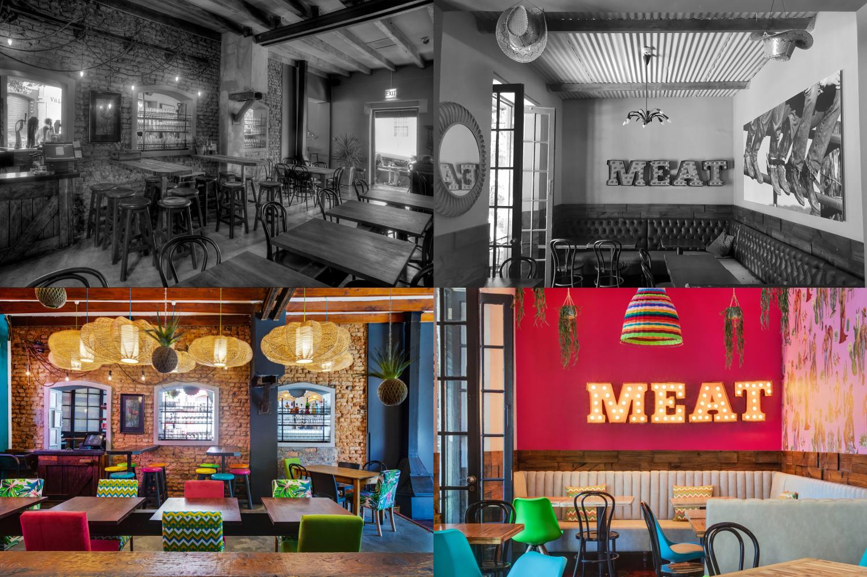 CAFE MANHATTAN, restaurant and bar interior refurbishment Onnah Design